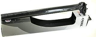 Oval Concepts 850 31.6 x 400 x 15mm Carbon Fiber Road/MTB Bike Seat Post New