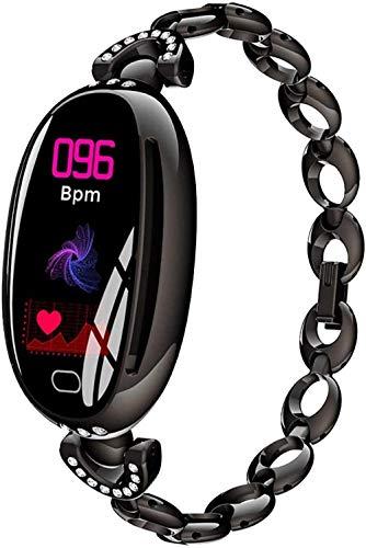 Smartwatch pulsera mujeres reloj inteligente conectado reloj mujer regalo GPS deporte reloj IP67 sueño monitor calorías contador alarma