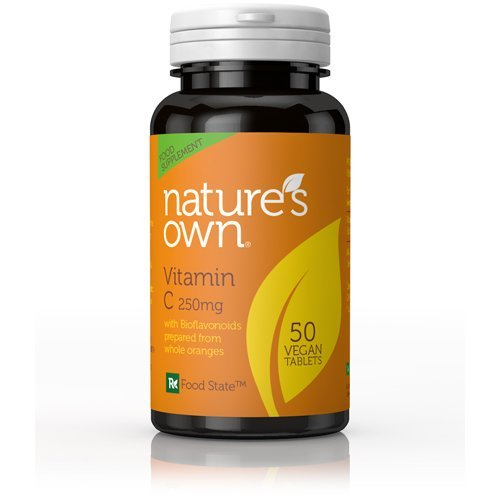 Natures Own 250mg Vitamin C 50 Tablets