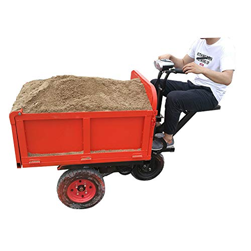 electric powered mini dumper wheelbarrow/yard garden cart Labor saving (dumper without battery)