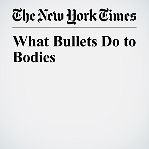 What Bullets Do to Bodies copertina
