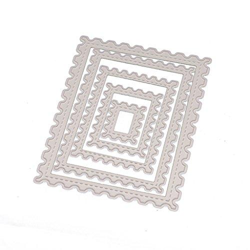 Stanzformen Schablone DIY Scrapbooking Prägealbum Papier Handwerk Briefmarke Rahmen