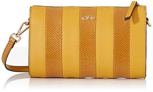 s.Oliver (Bags Damen 39.910.94.2067 Umhängetasche, Gelb (Yellow), 6x14x21 cm