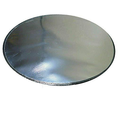 VERY100 Fireproof Mat, Fire Pit Mat: 24', 36' BBQ Mat Pad Deck Protector, Chiminea, Grill (Diameter:36')