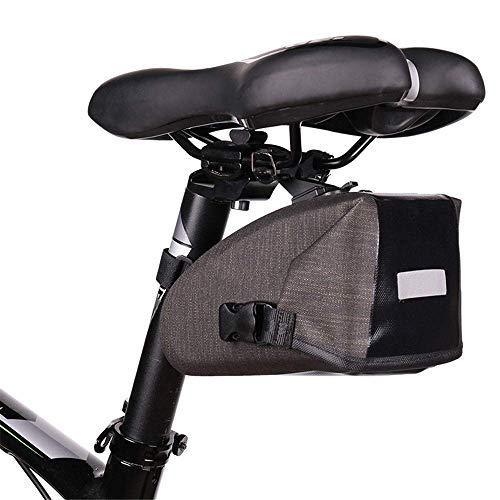 Cola bolso de la bicicleta del asiento de coche bolsa trasera bolsa Bike Riding Mountain Equipment bolsa de cola de la bicicleta bolsa impermeable Bolsa de sillín multifunción multifuncional Pack for
