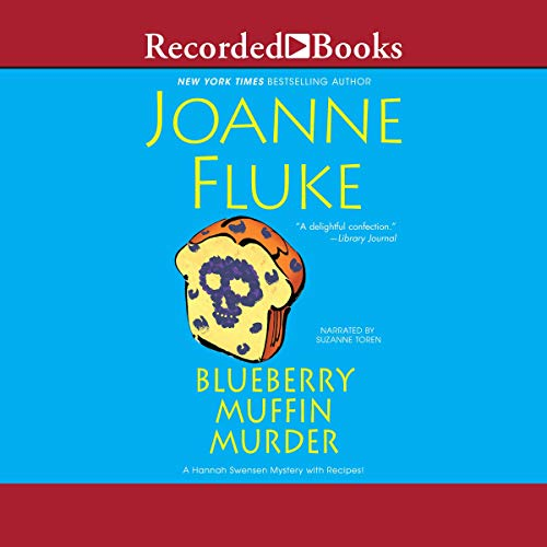 Blueberry Muffin Murder audiobook cover art