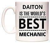 DAITON Is The World's BEST Mechanic Taza por WeDoMugs®