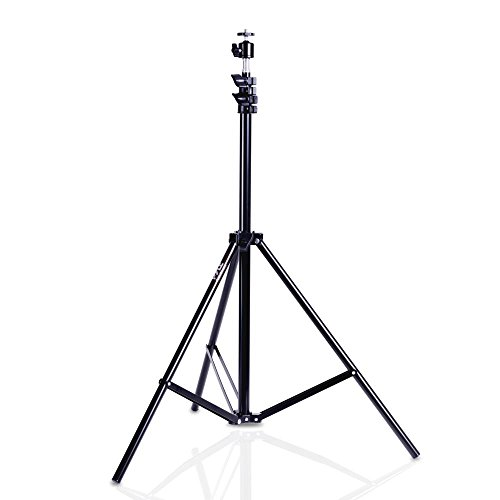 Pyle Home PRJTPS44 Pyle Camera Camcorder Projector Tripod Stand Heavy Duty W/ 360 Degree Adjustment -for DSLR, SLR, DLP, Digital Camera -, Black