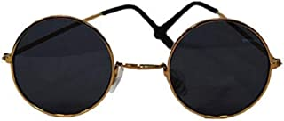 John Lennon Dark Hippie Glasses One Size