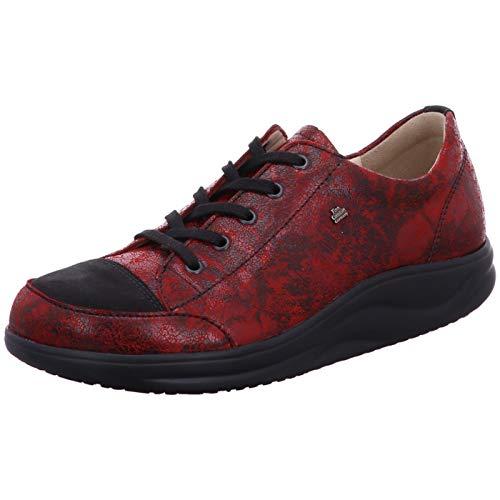 Finn Comfort Ikebukuro red, Bordeaux(redschwarz), Gr. 6