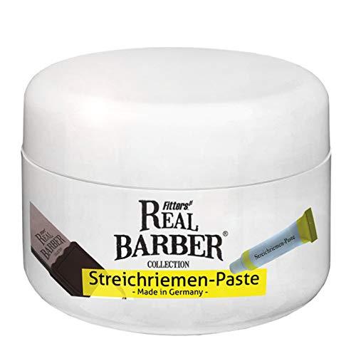 xxl Streichriemenpaste gelb - Lederbalsam Abziehpaste für alle Arten von Lederriemen - Lederpflege gelb Made in Germany