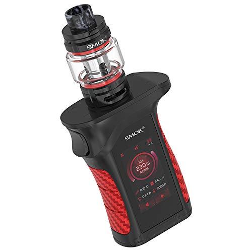 SMOK Mag P3 Kit E-Zigarette 230W mit TFV16 Tank 9ml Standard Edition 1 x Enthält BTKSY-Schlüsselanhänger/kein Nikotin - kein Rauchöl (Black red)