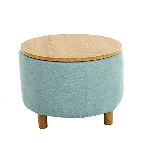 YTSFT salontafel modern woonkamer thuis sofa bijzettafel balkontafel ronde opslag theetafel nachtkastje meerkleurig optioneel mintgroen