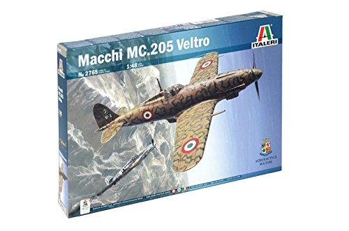 "Italeri 2765 - Macchi MC.205 ""Veltro"" A.M. Model Kit Scala 1:48"