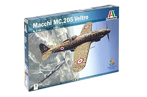 Italeri 2765 - Macchi MC.205 'Veltro'  A.M. Model Kit  Scala 1:48