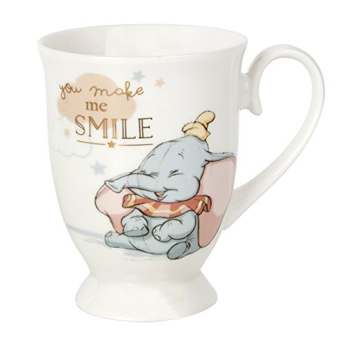 "Disney Dumbo-Tasse ""You make me smile"" mit Geschenkbox"