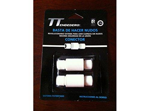 Tendederos Y Tiradores. Xxx37791 - Conector cuerdas s/nudo tend y tirad 2 pz
