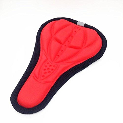 Randeny Siège Selle pour Vélo Vélo Vélo De Montagne Coussin Coussin Mousse Accessoires Pièces Red