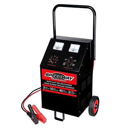 Speedway Heavy Duty 6/12 Volt Roll Around Charger