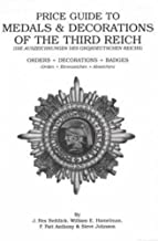 Price Guide to Medals & Decorations of the Third Reich: Orders, Decorations, Badges
