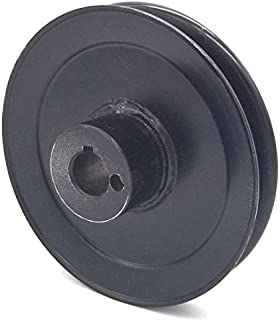 Phoenix Mfg. 4-3/4 Inch Dia 17mm Bore Steel V-Groove Drive Pulley Replacement for Briggs and Stratton Ferris Simplicity 5100765
