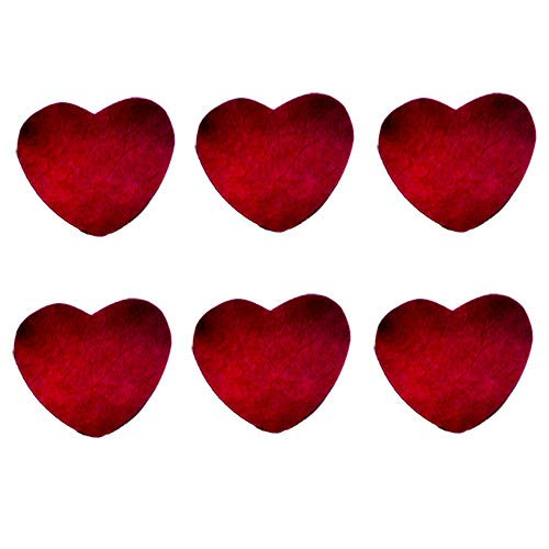 食べられる押し花 ドライエディブルフラワー バラ(ハート型) 100枚入り 食用花 ドライフラワー 有限会社トム(omtmb7232)