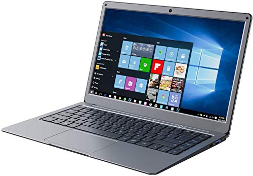 Jumper 13.3 Pollici Notebook con Microsoft Office 365,Portatile Windows 10, Laptop 4 GB DDR3 64 GB eMMC, Memoria Espandibile SSD 1TB e 256GB TF, Intel CPU, WiFi dual band, Bluetooth 4.2 (Beige)