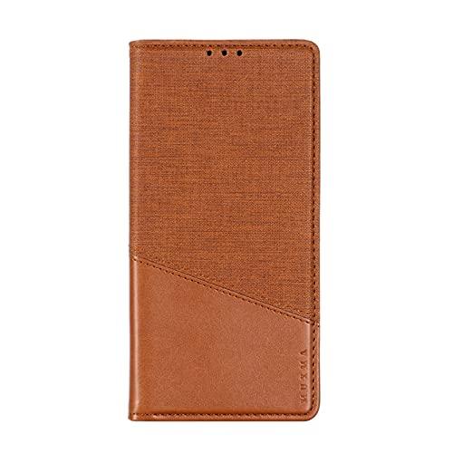 SHIEID Funda par Nokia X20/X20, Flip Wallet Tipo Libro Protector Magnético y Plegable de PU + TPU Soporte de Ranuras para Tarjetas, Compatible para Nokia X20/X20 (Marrón)