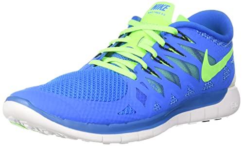 Nike Free 5.0 męskie buty do biegania, niebieski - Niebieski Neo Turq White Hypr Crmsn Blk 405-45 EU