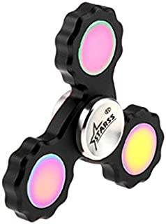 Starss Gear Fidget Spinner with Fast Stainless Steel Bearing Long Spin Time Anxiety Relief Toy Best Gag Gift