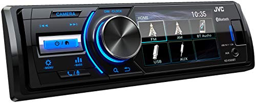 """JVC KD-X560BT USB-Autoradio mit Bluetooth und 3\"""" TFT-Farbdisplay (Rückfahrkameraeingang, AUX-Eingang, MP3, WMA, FLAC, DSP, 4 x 45 Watt)"""