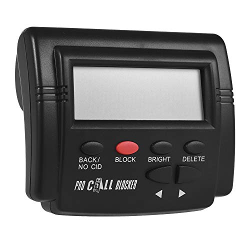 Docooler CT-CID803 Caller ID Box Call Blocker Stop Nuisance Calls Devices Call ID LCD Screen Display with 1500 Numbers Capacity Stoping All Cold Calls for Fixed Phones Antique Landline Telephone