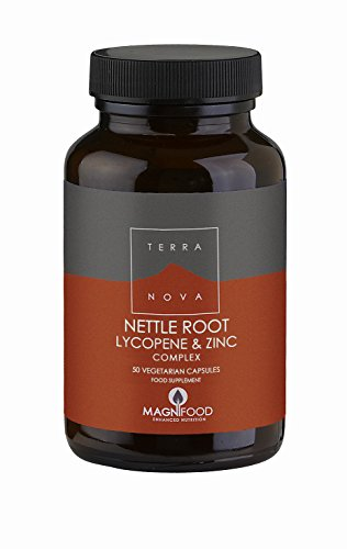 Nettle Root, Lycopene, and Zinc 50 Capsules