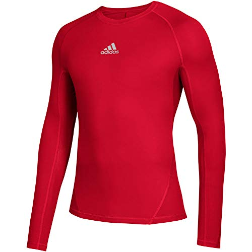 adidas Alphaskin Youth Long Sleeve Baseball Compression Shirt