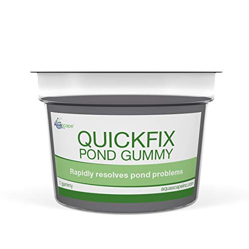 Aquascape 96083 QuickFix All-in-One Pond Gummy Water Treatment with Slow Disolve Release, Clear