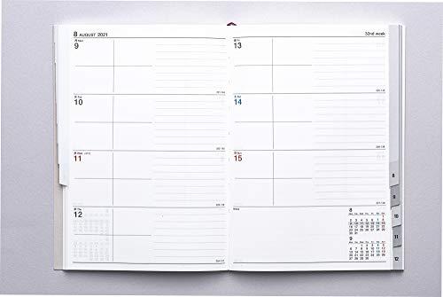 高橋手帳2021年B6ウィークリーシャルム6ピンクベージュNo.356(2021年1月始まり)