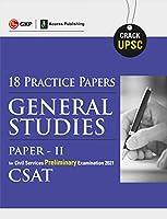 UPSC 2021 : General Studies Paper II CSAT 2021 : 18 Practice Papers