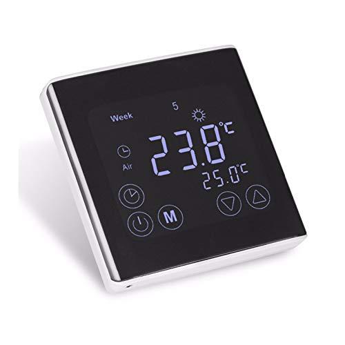 Digital Thermostat-Regler inkl. externem Bodensensor Touchscreen Temperaturregler Raumthermostat