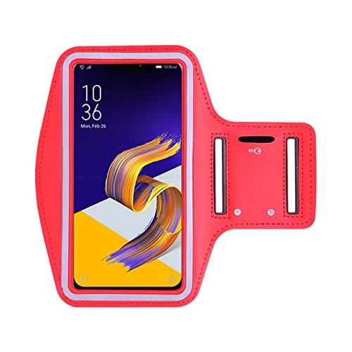 Brazalete deportivo para teléfono móvil para correr, gimnasio, entrenamiento, banda elástica ajustable, ranura para llave para Galaxy J7 2016 5.5 pulgadas