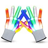 LED Gloves Cool Toys for Kids Toys for 3-15 Year Old Boys Gifts for Girls Boy Light Up Gloves...