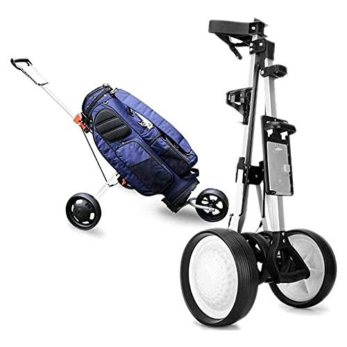 Push Golf Trolley Professionale Pieghevole 3 Ruote Golf Trolley Sport All'aria Aperta Viaggi Aeroporto Bagaglio Check Carrier Carrello Passeggino Campo Da Golf Attrezzi Forniture