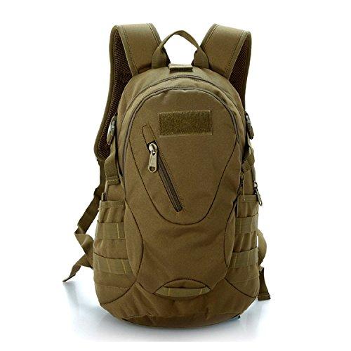 LEMONBEST 20L WARGAME Outdoor Backpack Traveling Exploration Backpack Daypack Brown