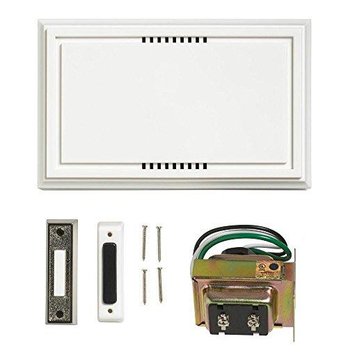 Atticus Electronics Wired Door Bell Deluxe Contractor Kit, 2 Notes...