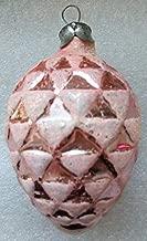 Bump Pink Original USSR Soviet Union Russian Christmas Tree Glass Ornament decoration