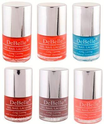 DeBelle Nail Polish Combo of 6