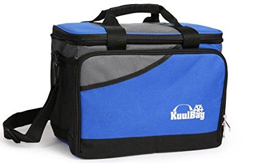 Kuulbag Große 15L große, und Faltbare Kühltasche fürs Auto, beim Sport oder Outdoor. Inklusive Umhängegurt.