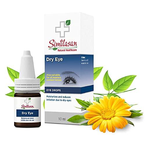 Similisan - Droge Ogen Oogdruppels 10ml - Bevochtigt en Vermindert Irriatie bij Droge Ogen - Hydrateert, Verzacht en Kalmeert - Snel en Effectief - Alleen Natuurlijke Bestandsdelen