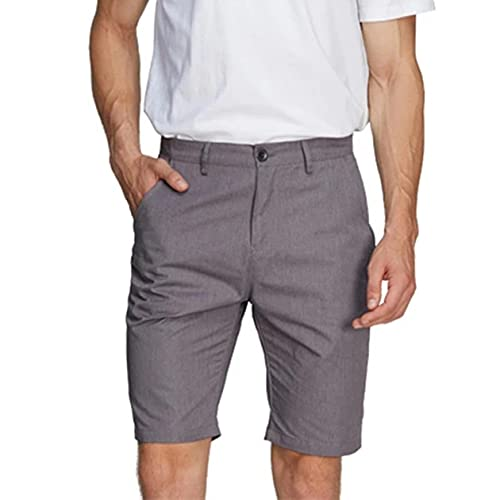KOIJWWF Pantalones Cortos Anti-radiación electromagnética, Pantalones Cortos de Traje de protección EMF de comunicación 5G, para vehículos de Nueva energía,Gris,L