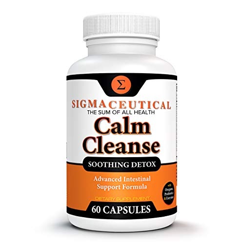 Calm Cleanse Detox Support - Oral Overgrowth Treatment for Adults - Non-GMO Oral Detox Medicine and White Tongue Treatment – Mouth Overgrowth Treatment - 60 Capsules