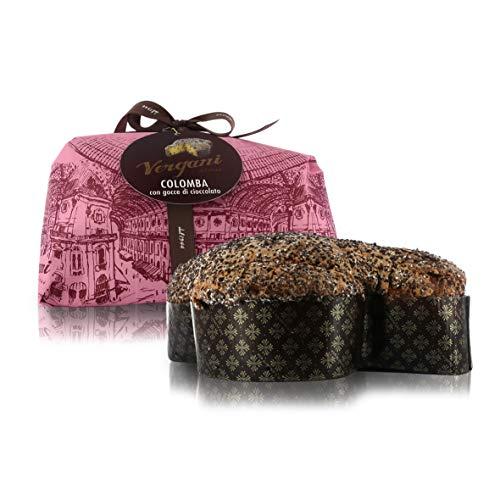 colomba cracco Vergani Colomba con Gocce di Cioccolato Extra-Fondente E Senza Canditi